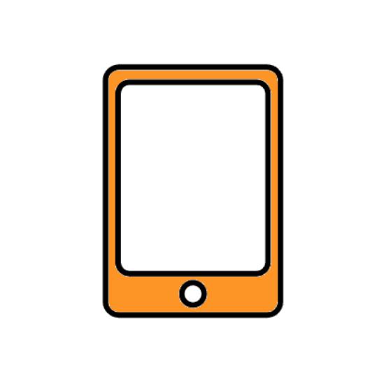 便利なアプリケーション付きiPad